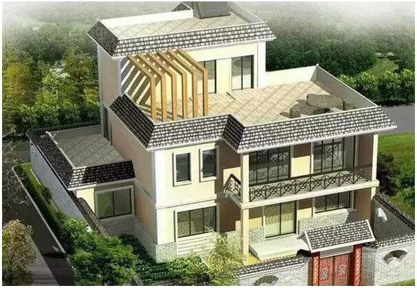 隨著新農村的建設,越來越多的農村家庭蓋起了新房子,這不僅跟他們的生活水平有關,也跟農村家庭的觀念有關,只要攢到一部分錢,大部分都會選擇用來蓋新房,不蓋新房,咋娶新媳婦呢? 怎么樣才能把房子蓋得漂亮且高大上?屋頂是很重要的一部分,常見的屋頂形式主要是平屋頂、斜坡屋頂以及平坡結合屋頂三種,在這三種屋頂安裝光伏電站,有什么不同呢? 平屋頂 屋頂坡度小于5%(2.